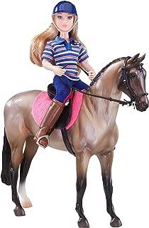 Breyer Freedom Series (Classics) English Horse & Rider Doll Set | (1:12 Scale) | Model #61114