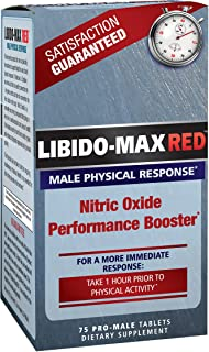 Applied Nutrition Libido Max Red 75 Pro Male Tablets