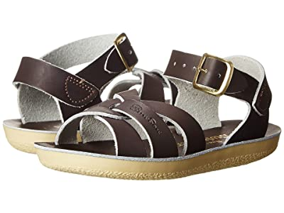 Salt Water Sandal by Hoy Shoes Sun-San Swimmer (Toddler/Little Kid) (Brown) Kids Shoes