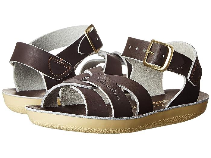 Salt Water Sandal by Hoy Shoes  Sun-San - Swimmer (Toddler/Little Kid) (Brown) Kids Shoes