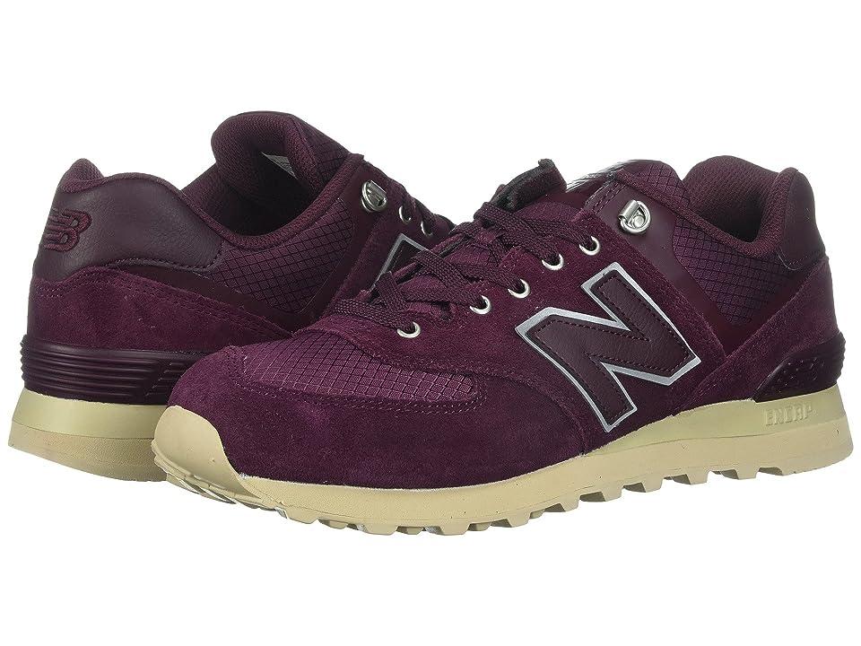 New Balance Classics ML574v1 (Chocolate Cherry/Sand) Men's Running Shoes