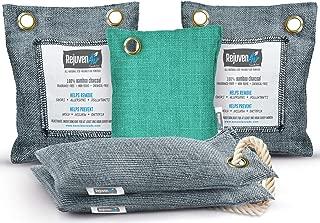 Bamboo Charcoal Air Purifying Bag (5 Pack – 200g, 50g, 75g), Natural Air Freshener..
