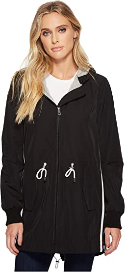 Vince Camuto - Hooded Parka with Drawstring Waist