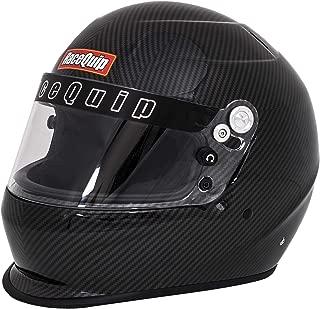 RaceQuip Unisex-Adult Full-Face-style Helmet (Carbon Graphic, Medium)