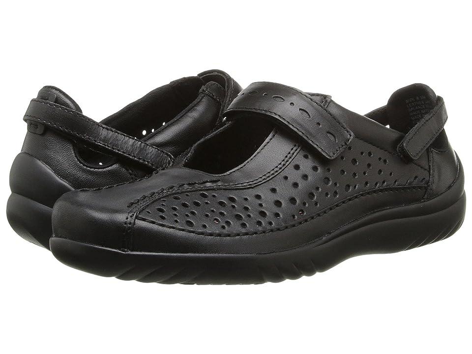 Klogs Footwear Via (Black Smooth) Women