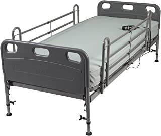 Drive Medical Competitor Semi Electric Bed with Mattress, Model - 15560-PKG