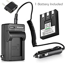 Kastar Battery (1-Pack) + Charger for Canon NB-3L, PowerShot SD10, SD100, SD110, SD20, SD500, SD550, Digital IXUS 700, 750, i5, Digital 30, 30a, 600, 700, D30, D30a, D53Z, IXY Digital L, Digital L2