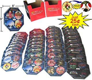 Emoticon Christmas Flashers 144 pcs Fun Holiday Message Discs for Christmas and New Year's Season, as seen on TV, Retail Display Box, Below Wholesale