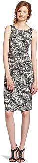 KAMALIKULTURE Women's Sleeveless Shirred Waist Dress