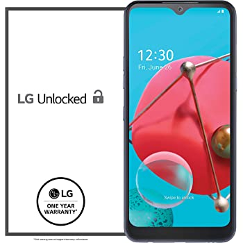 LG K51 Unlocked Smartphone – 3/32 GB – Platinum (Made for US by LG) – Verizon, AT&T, T–Mobile, Sprint, Boost, Cricket, Metro (Universal Compatibility)