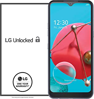 LG K51 Unlocked Smartphone – 3/32 GB – Platinum (Made for US by LG) – Verizon, AT&T, T–Mobile,...