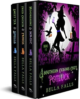 A Southern Charms Cozy Potluck: A Paranormal Cozy Mystery Box Set Books 1-3