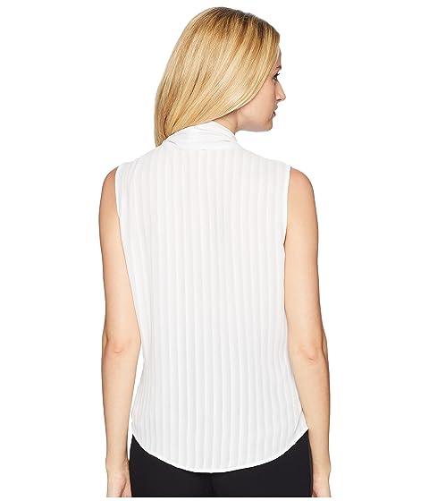 Neck Tie Top Sleeveless Klein Calvin qCwUA4f