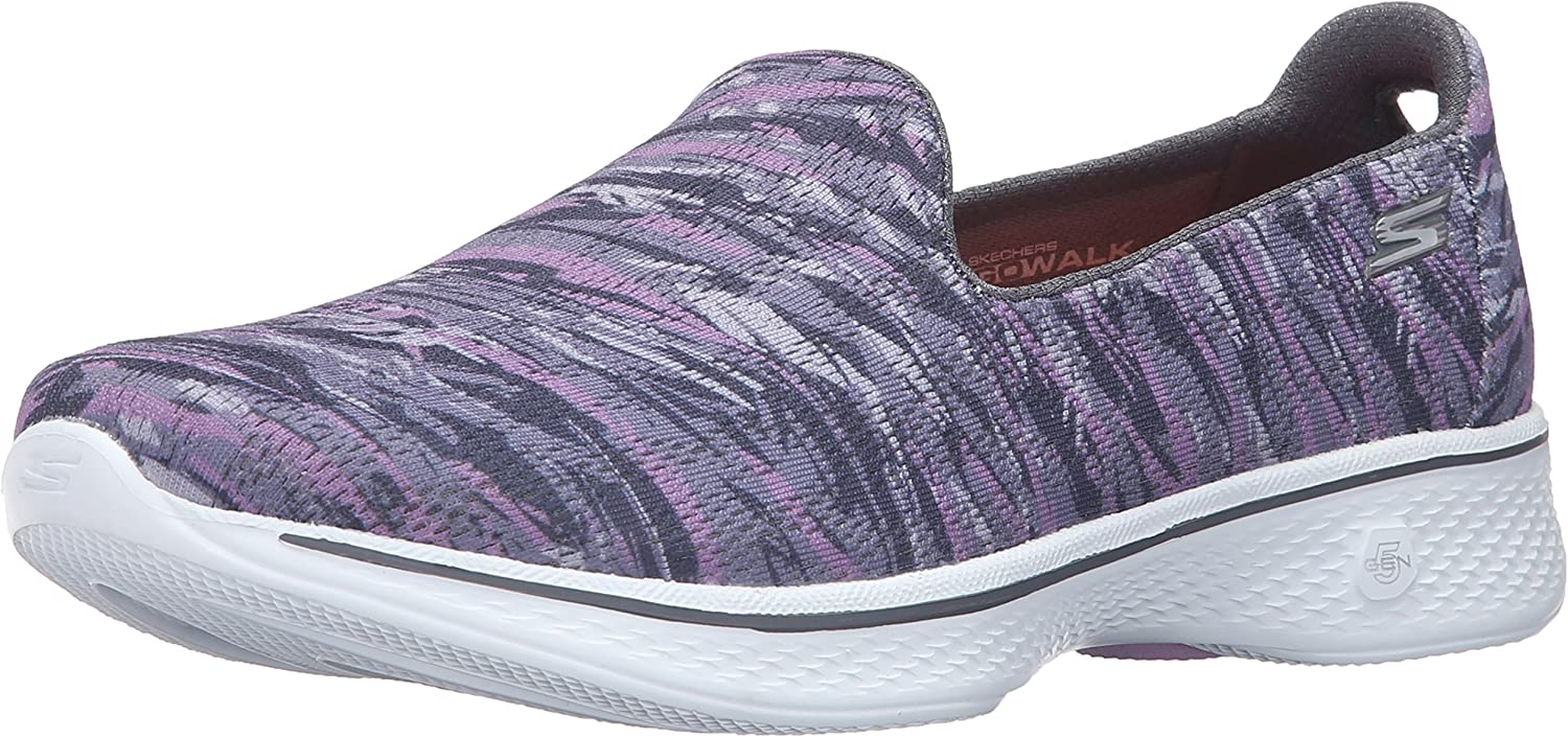 Skechers Performance Women's Go Walk 4 Electrify Flourish Walking shoes