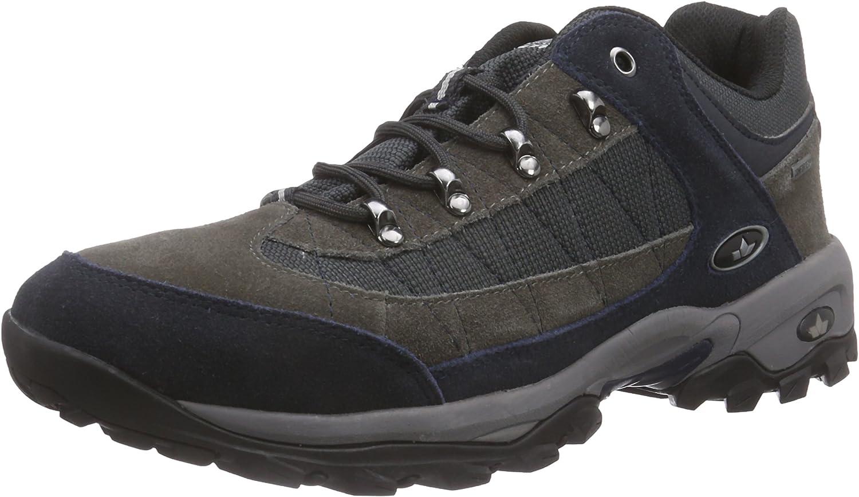Lico Santana, Men's Low Rise Hiking Boots bluee Grey