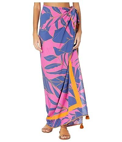 Maaji Beyond Dreams Cover-Up Sarong Pareo (Hibiscus Pink Floral) Women