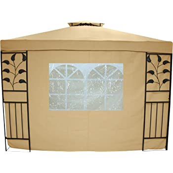 Testrut 469915 - Gazebo, Color Beige: Amazon.es: Jardín