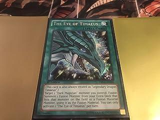 Yu-Gi-Oh - Eye of Timaeus (DRLG-EN005) - Dragons of Legend - 1st Edition - Secret Rare