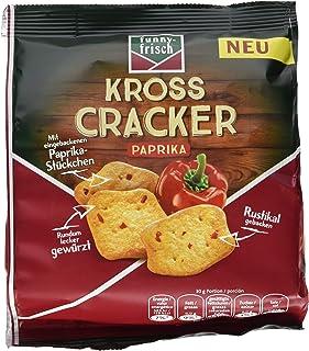funny-frisch Kross Cracker Paprika, 12er Pack 12 x 100 g