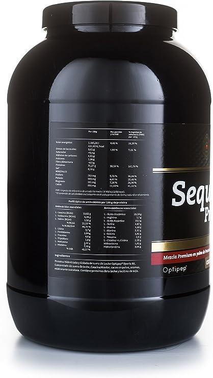Crown Sport Nutrition Sequential Protein, Suplemento de proteína para antes de dormir para Deportistas, Sabor de Chocolate - 918 gr