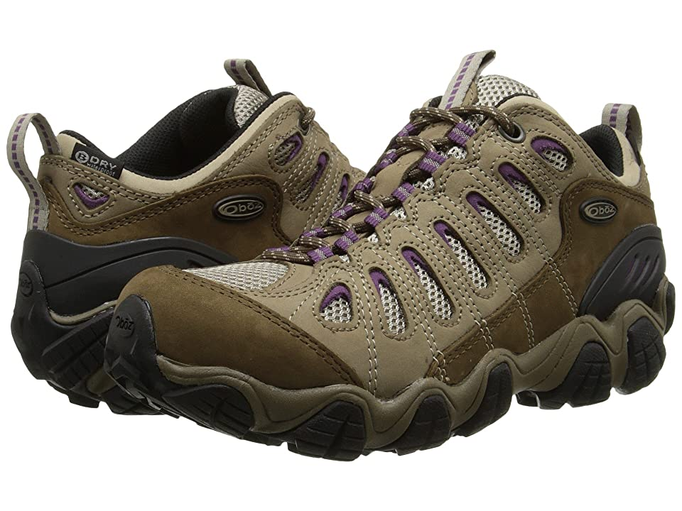 Oboz Sawtooth Low BDry (Violet) Women's Shoes