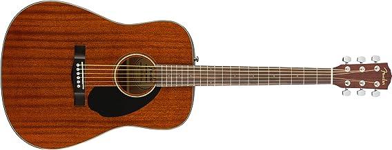 Fender CD-60S Acoustic Guitar Natural Finish - All Mahogany