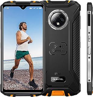OUKITEL WP8 Pro 超薄型ボディアウトドア スマートフォン、Android 10 IP68/IP69Kスマホ本体、6.3インチFHD +携帯電話、防水 防塵 耐衝撃、4GB + 64GB、5000mAhデュアルSIMフリースマートフ...