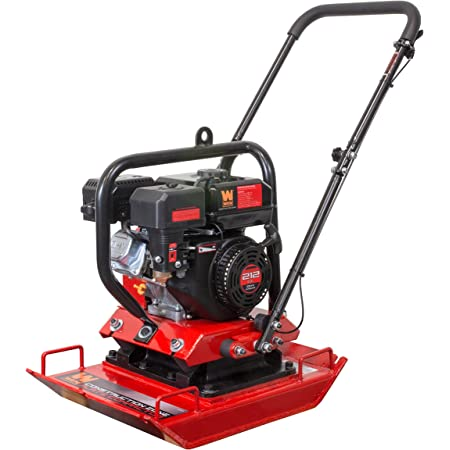 Compactor Plate Electric Compaction Wacker Hand-held Cement Troweling Vibrator