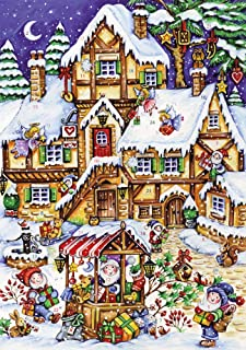 Christmas Market Advent Calendar (Countdown to Christmas)