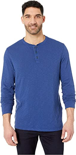 Jersey Garment Dye Slub Henley