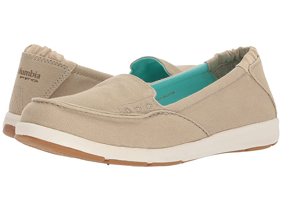 Columbia Delray Slip PFG (Ancient Fossil/Gulf Stream) Women