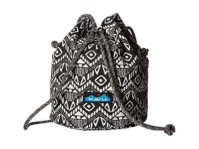 KAVU Bucket Bag (Black Batik) Bags