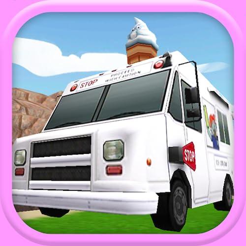 Ein Ice Cream Truck Race: 3D-Rennspiel - FREE Edition
