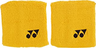 Yonex Wrist Band - Pack of 2 - Yellow - Tennis - Badminton - Squash