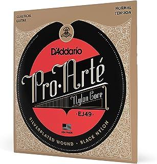 D'Addario EJ49 Pro-Arte Black نایلون رشته های گیتار کلاسیک، تنش طبیعی
