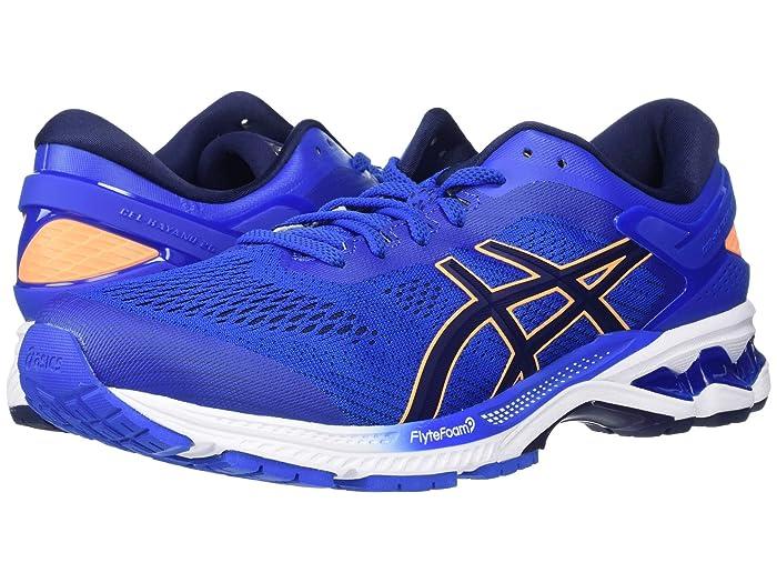 ASICS  GEL-Kayano 26 (Tuna Blue/Peacoat) Mens Running Shoes