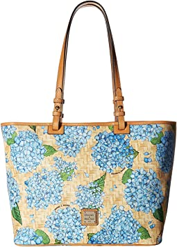 Dooney & Bourke Hydrangea Basket Weave Leisure Shopper