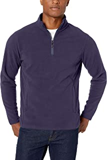 Amazon Essentials Men's Quarter-Zip Polar Fleece Jacket