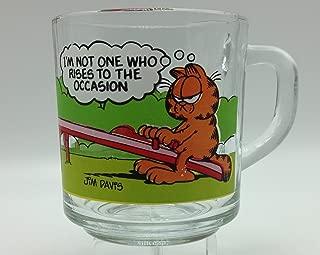 McDonald's Garfield Odie Coffee Cup Mug Glass Arlene Pookie Nermal Cartoon 1978