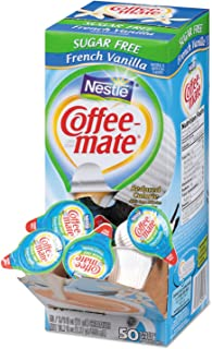 NES91757 - Nestleacute;reg; Coffee-matereg; Coffee Creamer Sugar-Free French Vanilla - Liquid Creamer Singles