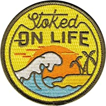 Asilda Store Embroidered Sew or Iron-on Patch (Stoked on Life)