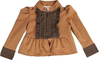 LELEFORKIDS- Toddlers and Girls (2-7/8) French Terry Knit | Kiss of Joy Zip-Up Jacket