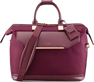 Ted Baker Women's Albany Softside Luggage, Suitcase Collection (Burgundy, Holdall Bag)