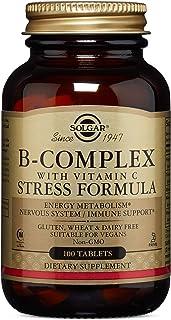Solgar Vitamina B-Complex con Vitamina C Comprimidos -