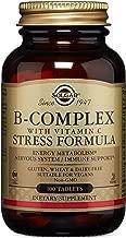 Solgar Vitamina B-Complex con Vitamina C Comprimidos - Envase de 100