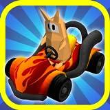 Ein Go-Kart-Rennen Spiel: All-Star Racing F2P Edition