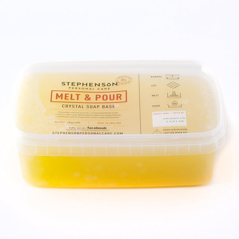 麺残り明らかにMelt and Pour Soap Base - Argan Oil SLES & SLS Free - 5Kg