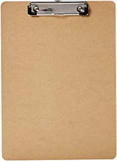 AmazonBasics Hardboard Office Clipboard - 6-Pack