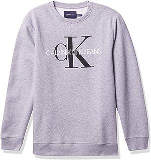 Boys' Big Crew Neck Fleece Sweatshirt