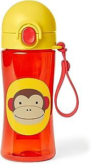 Skip Hop Zoo Lock-Top - Botella, diseño de overol, color café